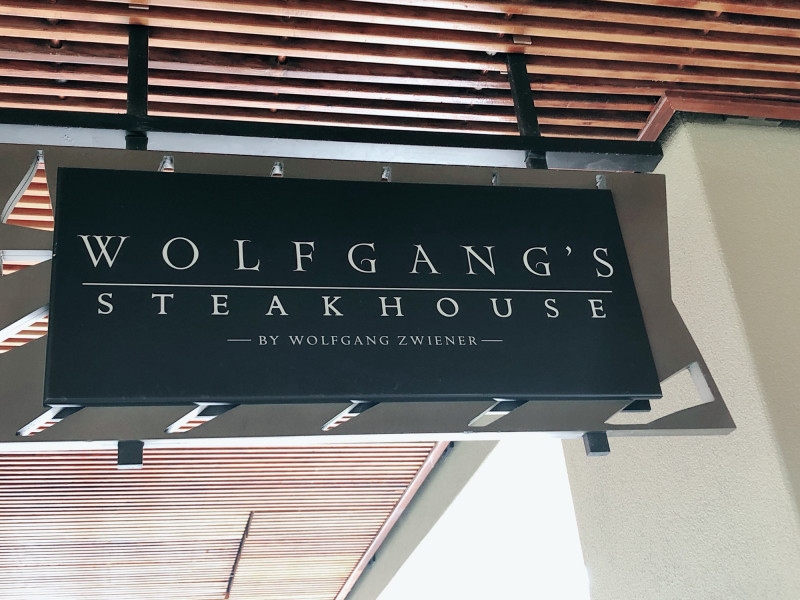 Wolfgang's steakhouse waikiki